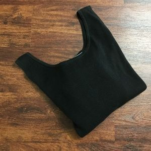 LINDA ALLARD ELLEN TRACY Sleeveless Black Dress